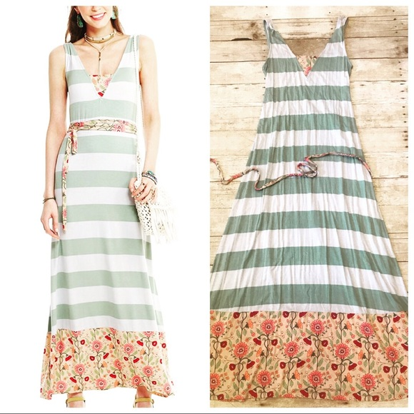 d142f8e56e7 Matilda Jane Happy   Free Soft Maxi Dress Jersey. M 5ac147818df4704d13f10dfa